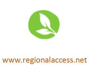 Regional access website and logo