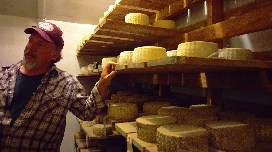 Byebrook cheese cave